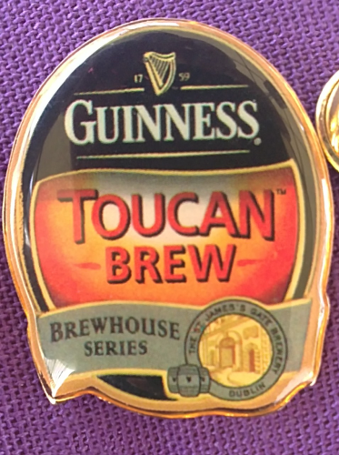 Guinness Pin, TOUCAN BREW