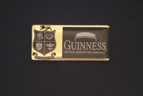 Guinness Pin, New zeeland 2005