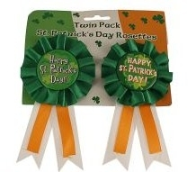 St. Patrick`s Day Button im 2er Pack