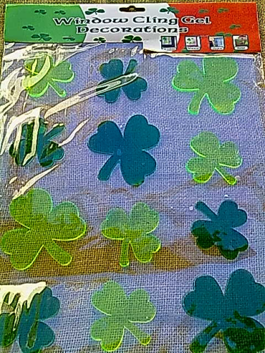 Shamrock Gel Sticker